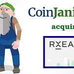 rxeal acquired by coinjanitor