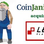 LENS platform crypto acquired by CoinJanitor