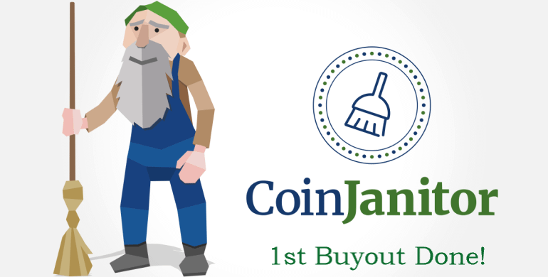 coinjanitor buys deadcoin